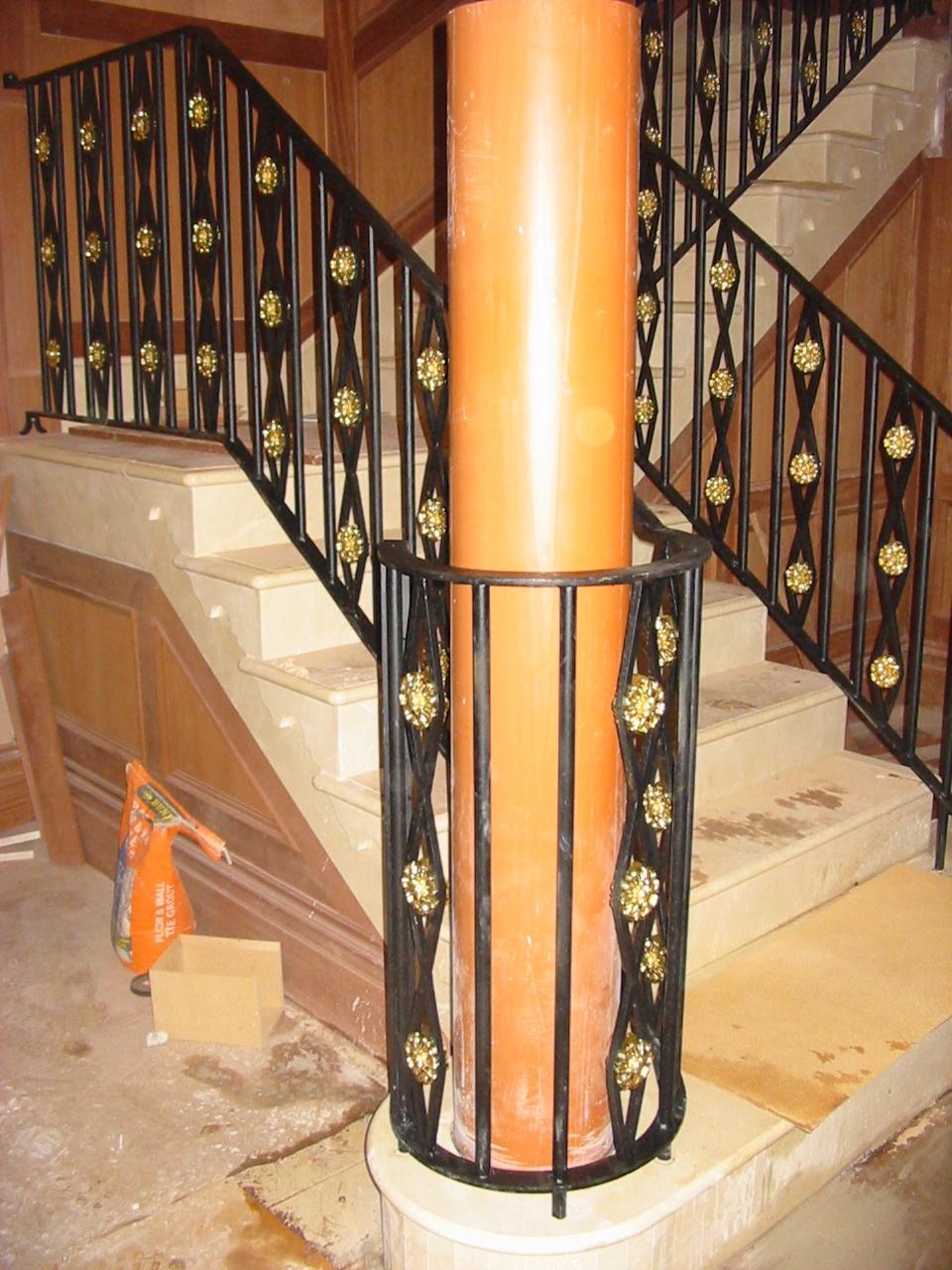 balustrades adare iron works